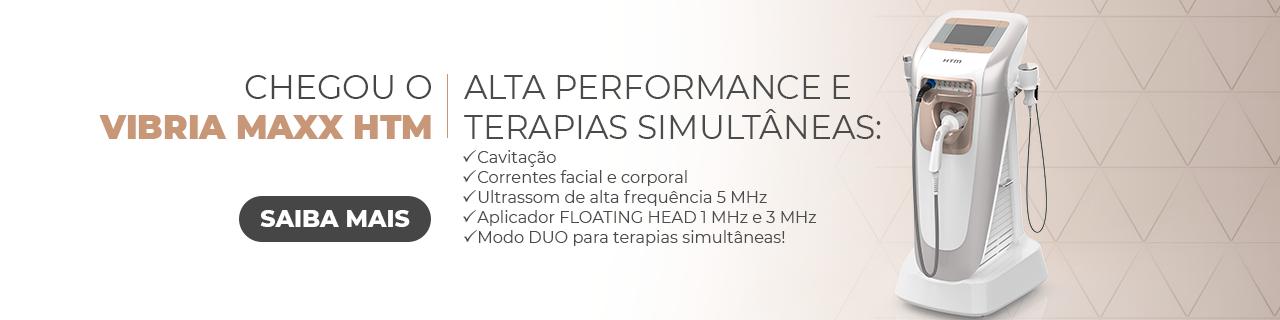 Novo Vibria Maxx HTM - Aparelho de Ultrassom de Alta Potência + Correntes