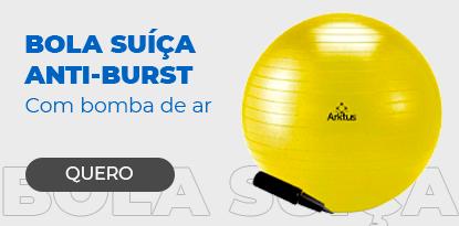 Bola Suíça para Pilates com Bomba de Ar - Anti-Burst - Arktus