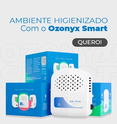 HIGIENIZAÇÃO DE AMBIENTE - OZONYX PORTÁTIL