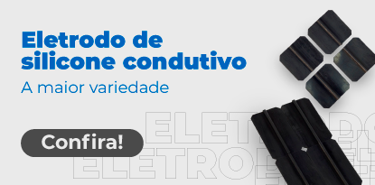 ELETRODO DE SILICONE CONDUTIVO