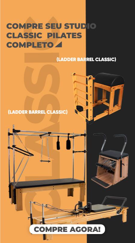 Kit Studio Classic Pilates Completo Branco - Arktus
