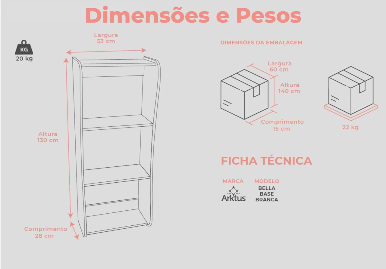 Dimensões e Pesos