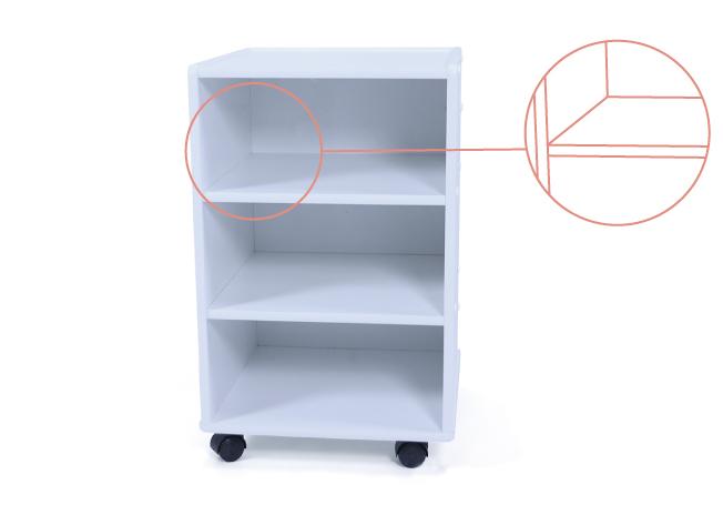 Maior área útil: