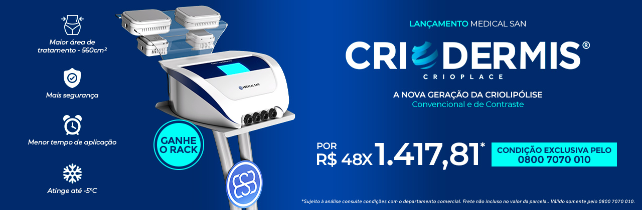 Criodermis Criolipólise de Placa Medical San