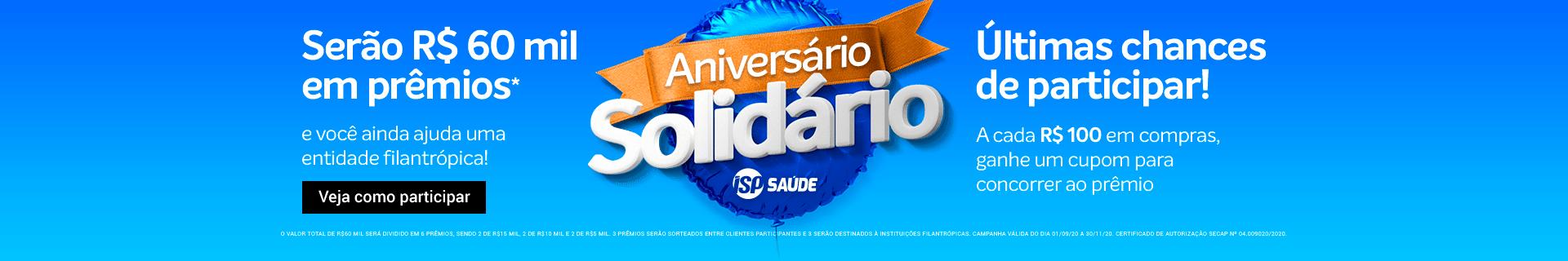 Aniversário ISP Saúde