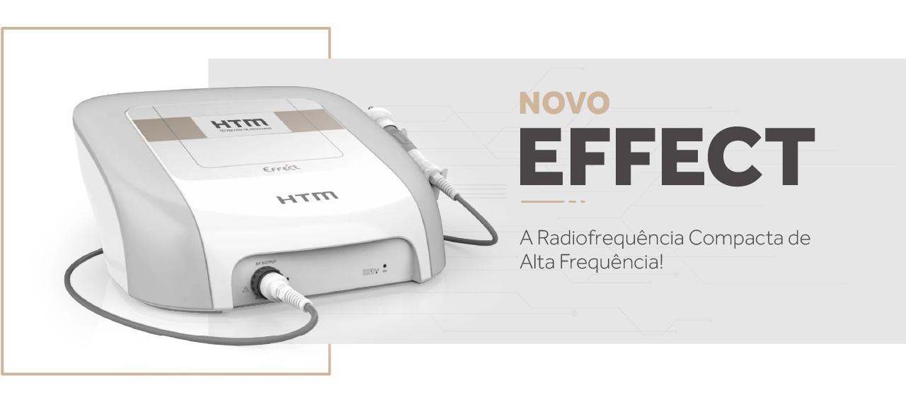 Novo Effect HTM - Aparelho de Radiofrequência com Estética Íntima